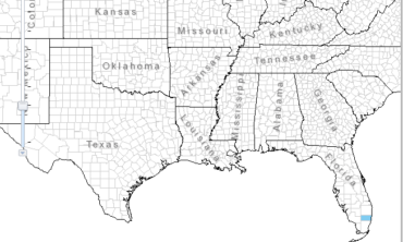 Starhorn Locations in Southeast US